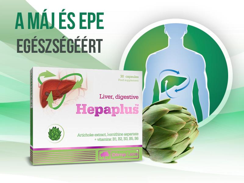 Hepaplus articsóka - a máj és epe egészségéért
