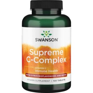 Swanson Supreme C-vitamin komplex 500mg tabletta - 100db