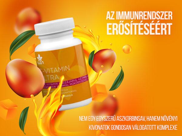 WTN C-vitamin Ultra - a normál immunműködésért