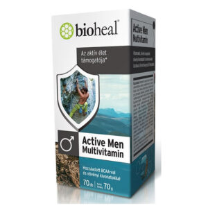 Bioheal Active Men Multivitamin lágyzselatin kapszula - 70db