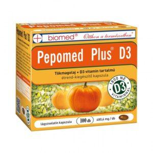 Biomed Pepomed Plus D3-vitamin kapszula – 100db