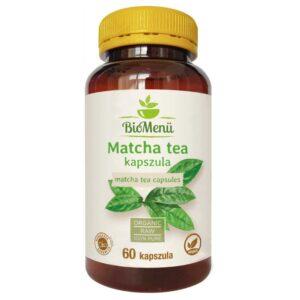Biomenü Bio Matcha tea kapszula – 60db