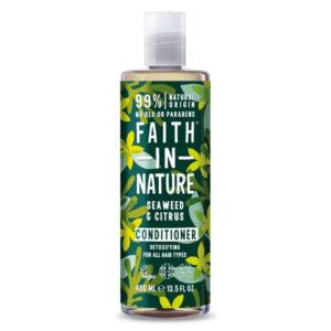 Faith in Nature Tengeri hínár és citrus hajkondícionáló - 400ml