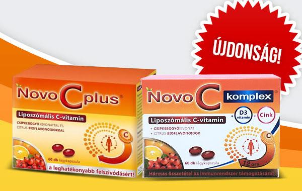 NovoC liposzómás C-vitamin - az ellenálló szervezetért