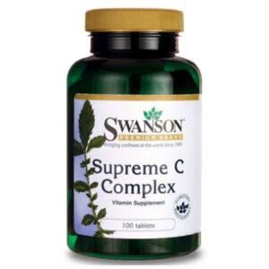 Swanson Supreme C-vitamin komplex 500mg tabletta - 100db