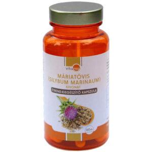 Vitamed Máriatövis tea kapszula - 60db