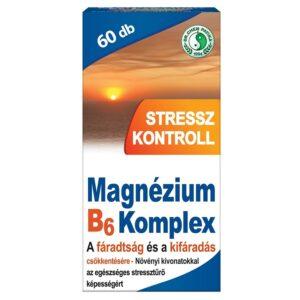 Dr. Chen Magnézium B6 Stressz kontroll tabletta – 60db