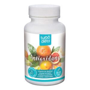 Turbó Diéta antioxidáns kapszula - 60db