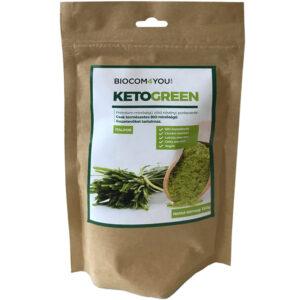 Biocom KetoGreen növényi por utántöltő - 150g