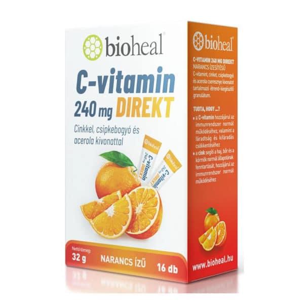 Bioheal C-vitamin 240mg Direkt 16 sticks