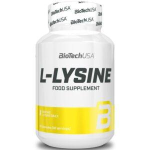 BioTech USA L-Lysine kapszula – 90db