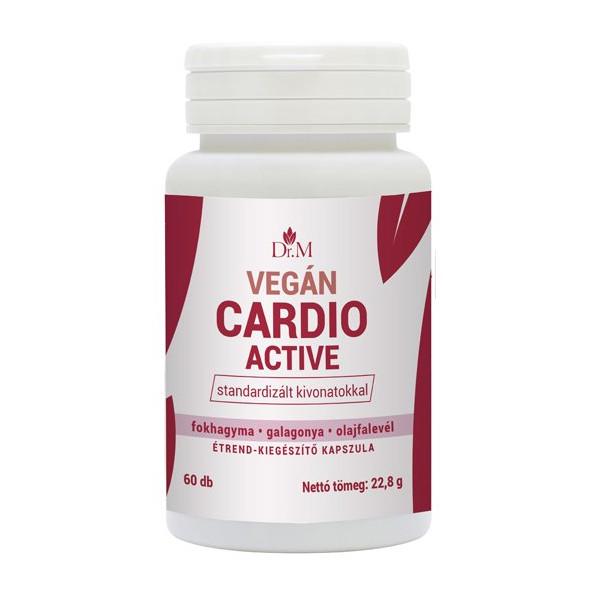 Dr.M Vegán Cardio Active kapszula - 60db