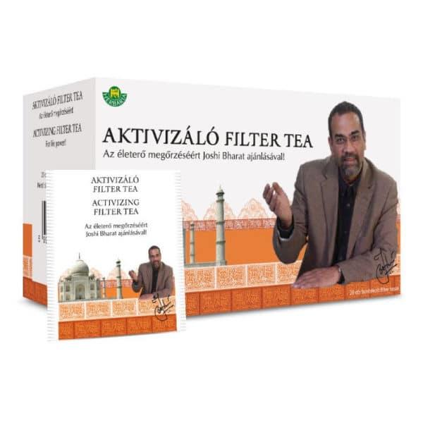 Herbária Aktivizáló filteres tea – 20 filter