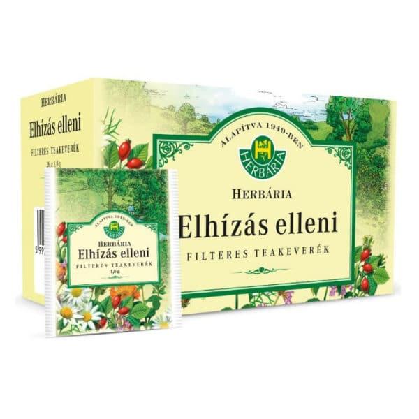 Herbária Elhízás elleni filteres tea – 20 filter