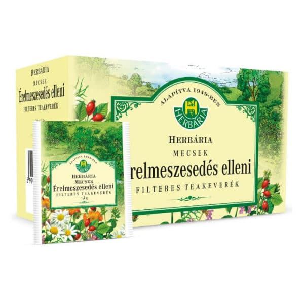 Herbária Mecsek érelmeszesedés elleni filteres tea - 20 filter