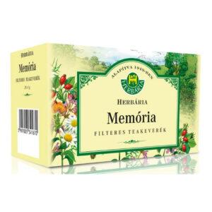 Herbária Memória teakeverék filteres - 20 filter