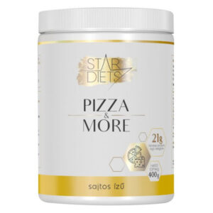StarDiets Pizza & More pizza por sajtos - 400g