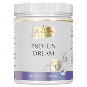 StarDiets Protein Dream fehérje áfonyás muffin – 500g