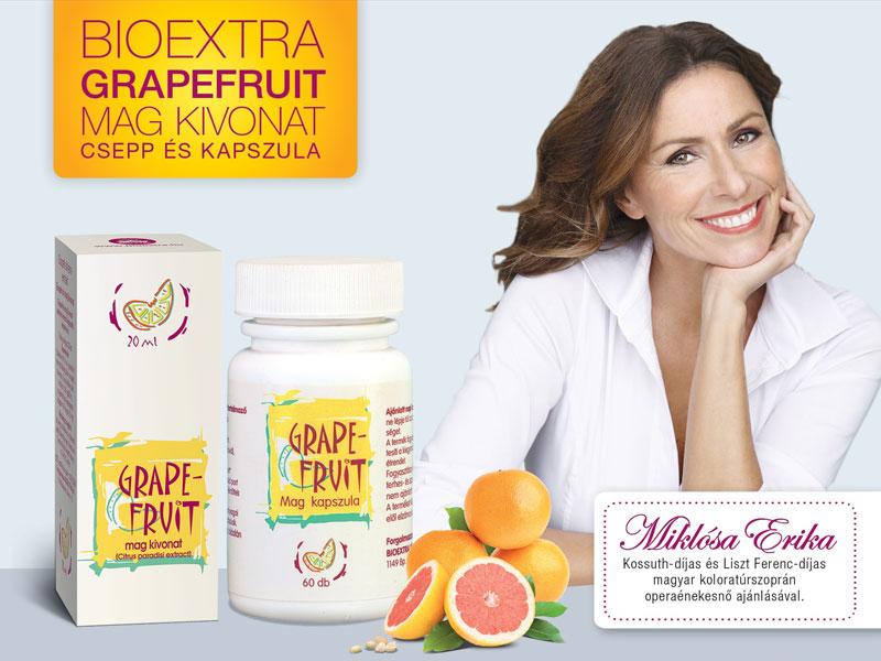 Grapefruitmag termékek - az erős, egészséges szervezetért