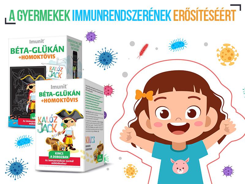 Imunit Béta-Glükán - a gyerekek normál immunrendszeréért