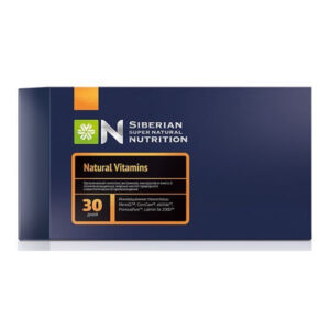 Siberian Wellness Super Natural Nutrition – Natural Vitamins – 30 csomag