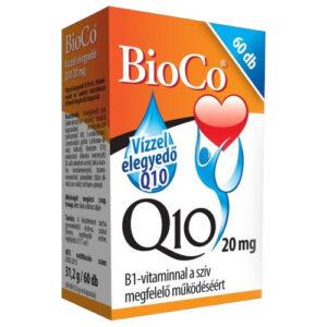 BioCo Q10 Vízzel elegyedő 20mg kapszula - 60db