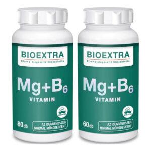Bioextra Mg+B6 filmtabletta – 2x60db