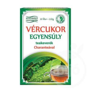 Dr. Chen Vércukor egyensúly filteres tea – 20 filter
