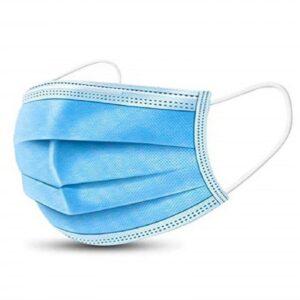 Egészségügyi szájmaszk, 3 rétegű, gumi zsinóros füllel 50db/csomag