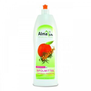 AlmaWin Öko kézi mosogatószer koncentrátum homoktövissel és mandarinnal – 1000 ml