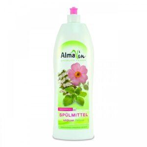 AlmaWin ÖKO kézi mosogatószer koncentrátum vadrózsával és citromfűvel – 1000 ml
