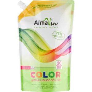 AlmaWin Color Öko folyékony mosószer koncentrátum színes ruhákhoz hársfavirág kivonattal - 1500ml
