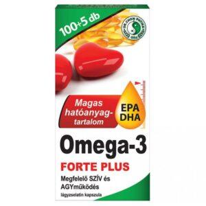 Dr. Chen Omega-3 Forte Plusz kapszula - 105db