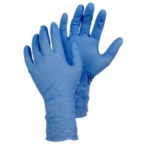 Tegera gumikesztyű Nitril 7-es méret kék – 100db