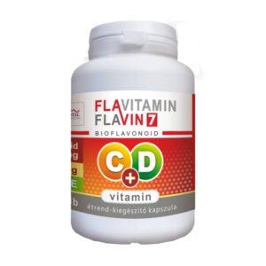 Vita Crystal Flavitamin C+D vitamin kapszula – 100db