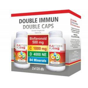 Vita Crystal Flavitamin Double Immun C+D vitamin kapszula – 2x120db