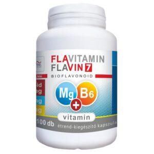 Vita Crystal Flavitamin Mg+B6-vitamin kapszula – 100db