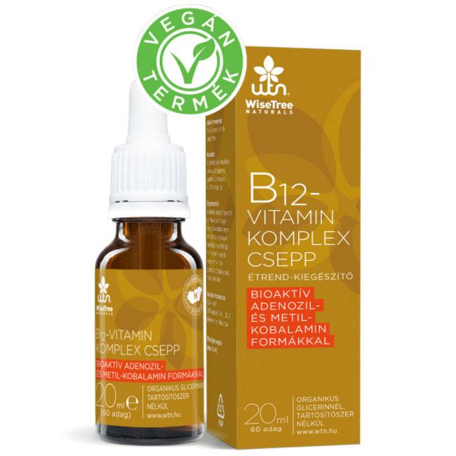 WTN B12-vitamin komplex csepp - 20ml