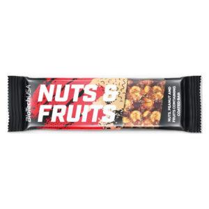 BioTech USA Nuts and Fruits szelet – 40g