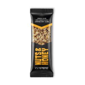 BioTech USA Nuts and Honey szelet