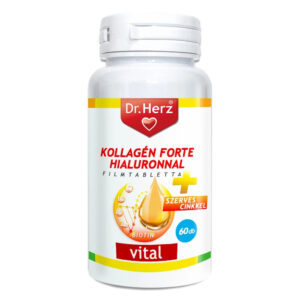 Dr. Herz Kollagén Forte Hialuronnal tabletta - 60db