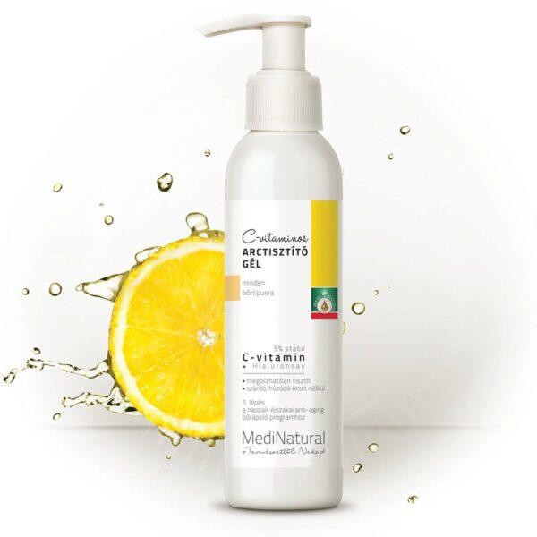 Medinatural C-vitaminos arctisztító gél - 150ml