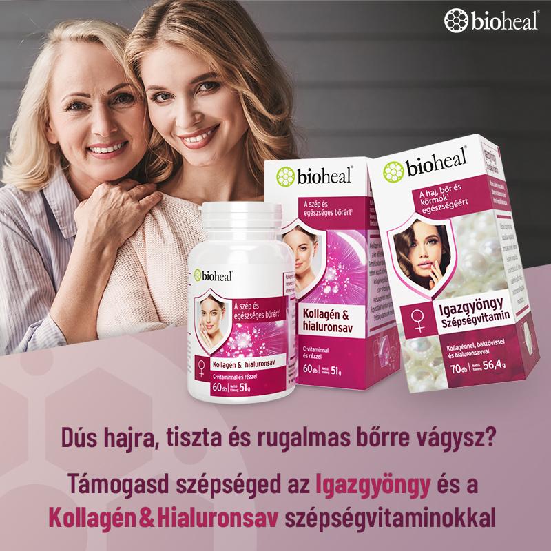 Bioheal Beauty Secrets - Szépségvitaminokkal a rugalmas bőrért!
