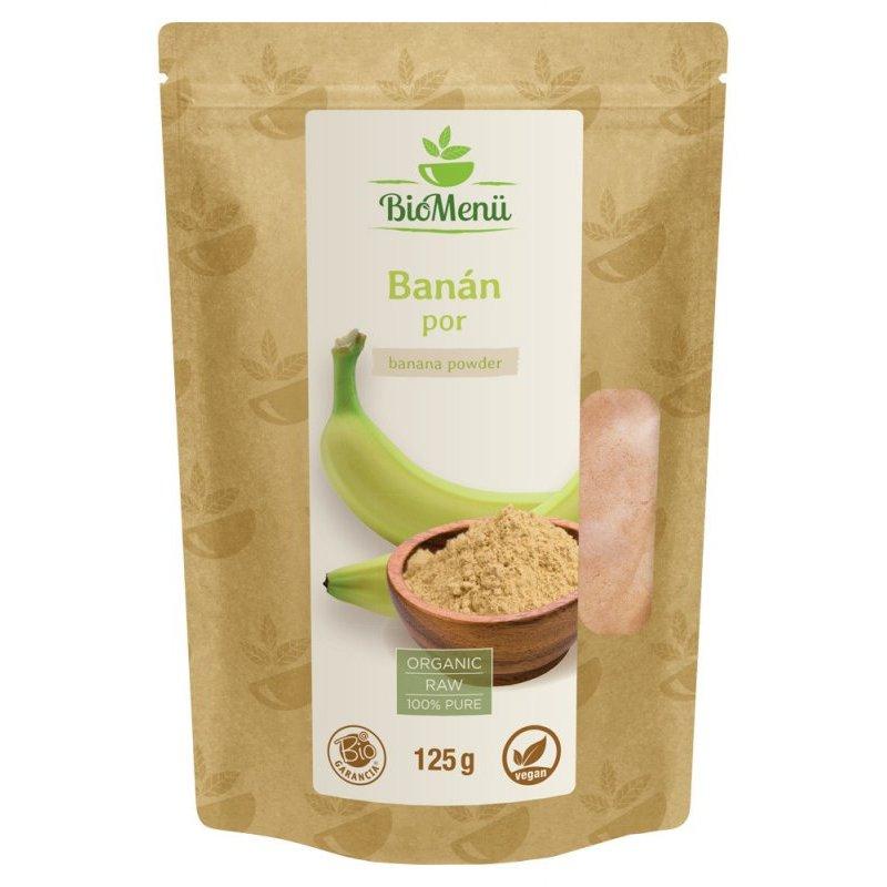 Biomenü BIO Banán por – 125g
