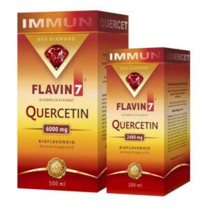 Flavin7 Quercetin - Kvercetin Immun ital - 500ml+200ml