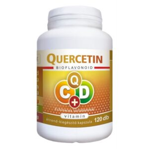 Flavin7 Quercetin C+D C-vitamin 1000mg + D-vitamin 4000NE Echinacea kapszula - 120db