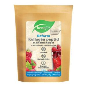 Interherb Benefitt Reform kollagén peptid málna ízű italpor - 300g