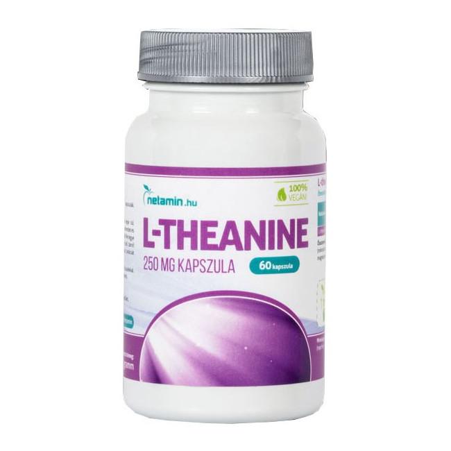 Netamin L-theanine kapszula - 60db