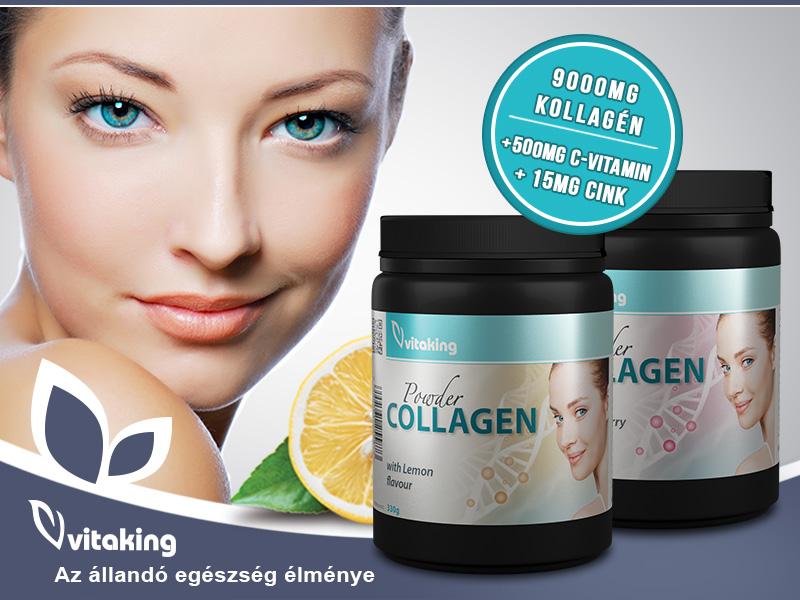 Vitaking Collagen por - a szép bőrért és az ízületek egészségéért