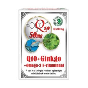 Dr. Chen Q10 + Ginkgo Biloba + Omega-3 kapszula